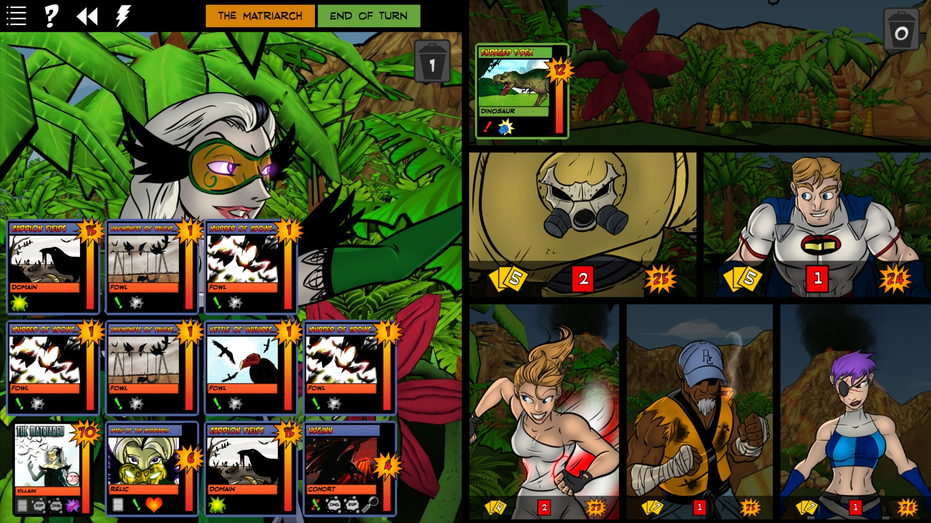 Sentinels of the Multiverse - Rook City screenshot