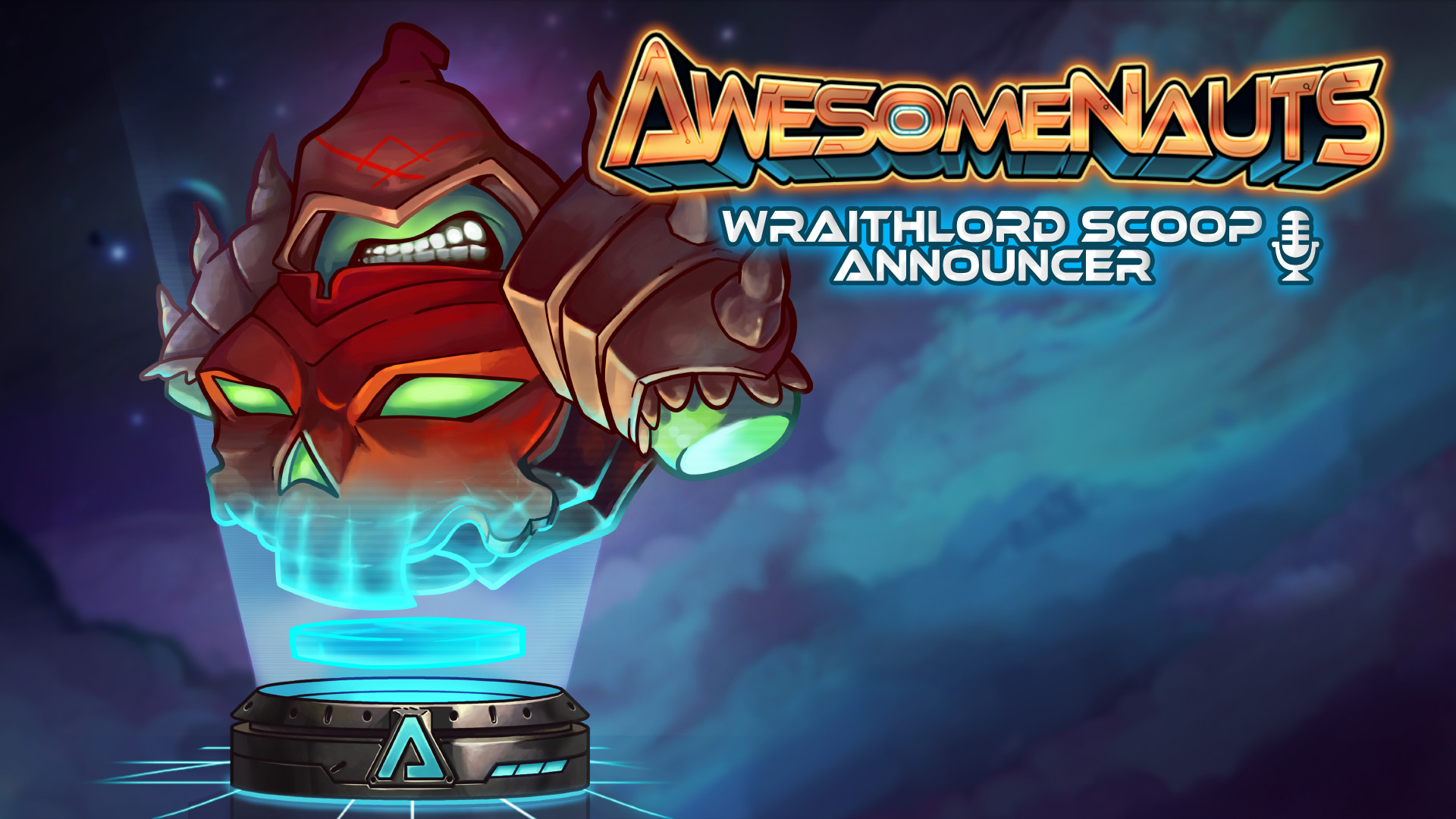 Awesomenauts - Wraithlord Scoop Announcer screenshot
