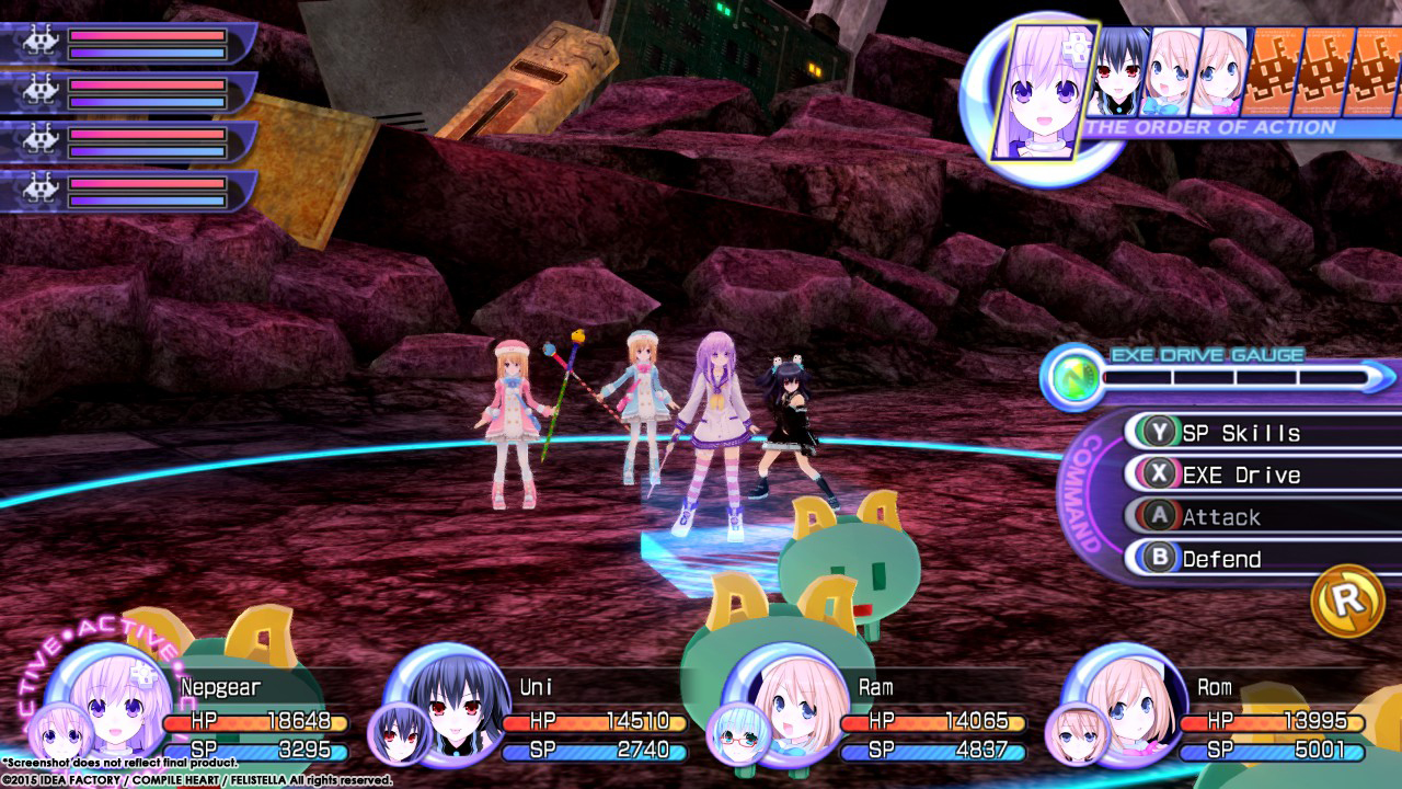 Hyperdimension Neptunia Re;Birth2: Sisters Generation Screenshot 1