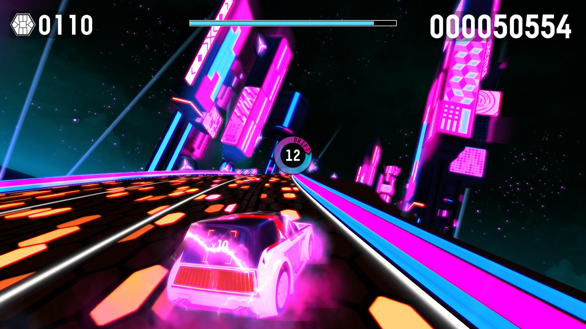 Riff Racer - Race Your Music! screenshot