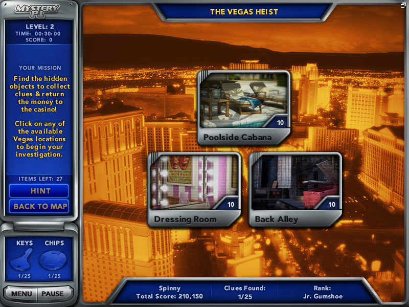 Mystery P.I. - The Vegas Heist screenshot