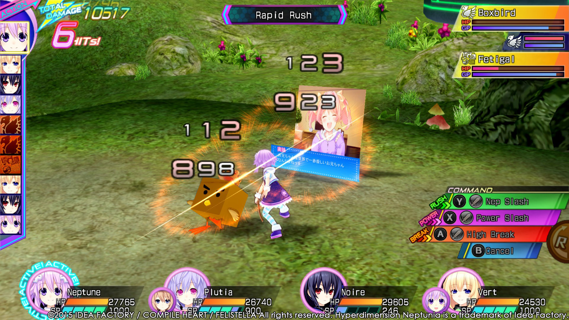 Hyperdimension Neptunia Re;Birth3 Screenshot 1