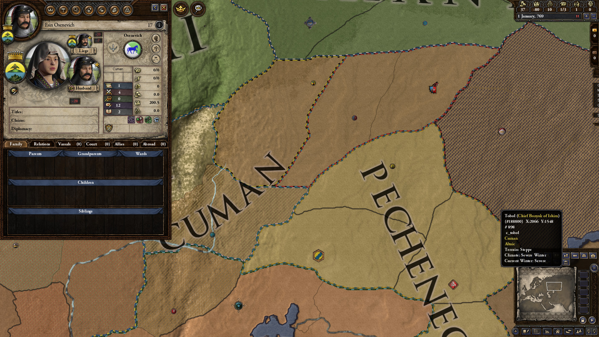 Content Pack - Crusader Kings II: Horse Lords screenshot