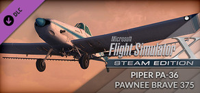 FSX: Steam Edition - Piper PA-36 Pawnee Brave 375 Add-On