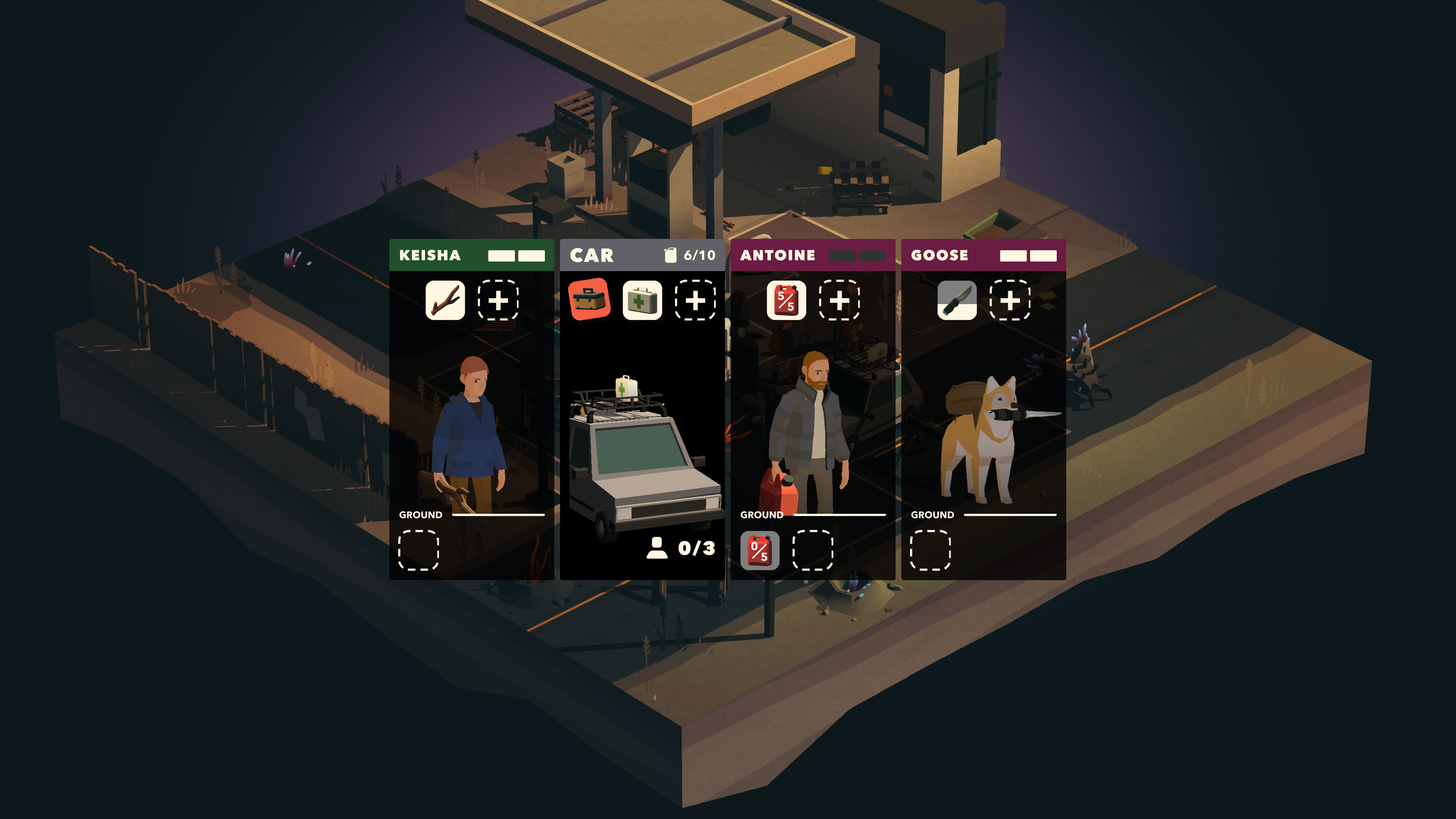 Overland screenshot