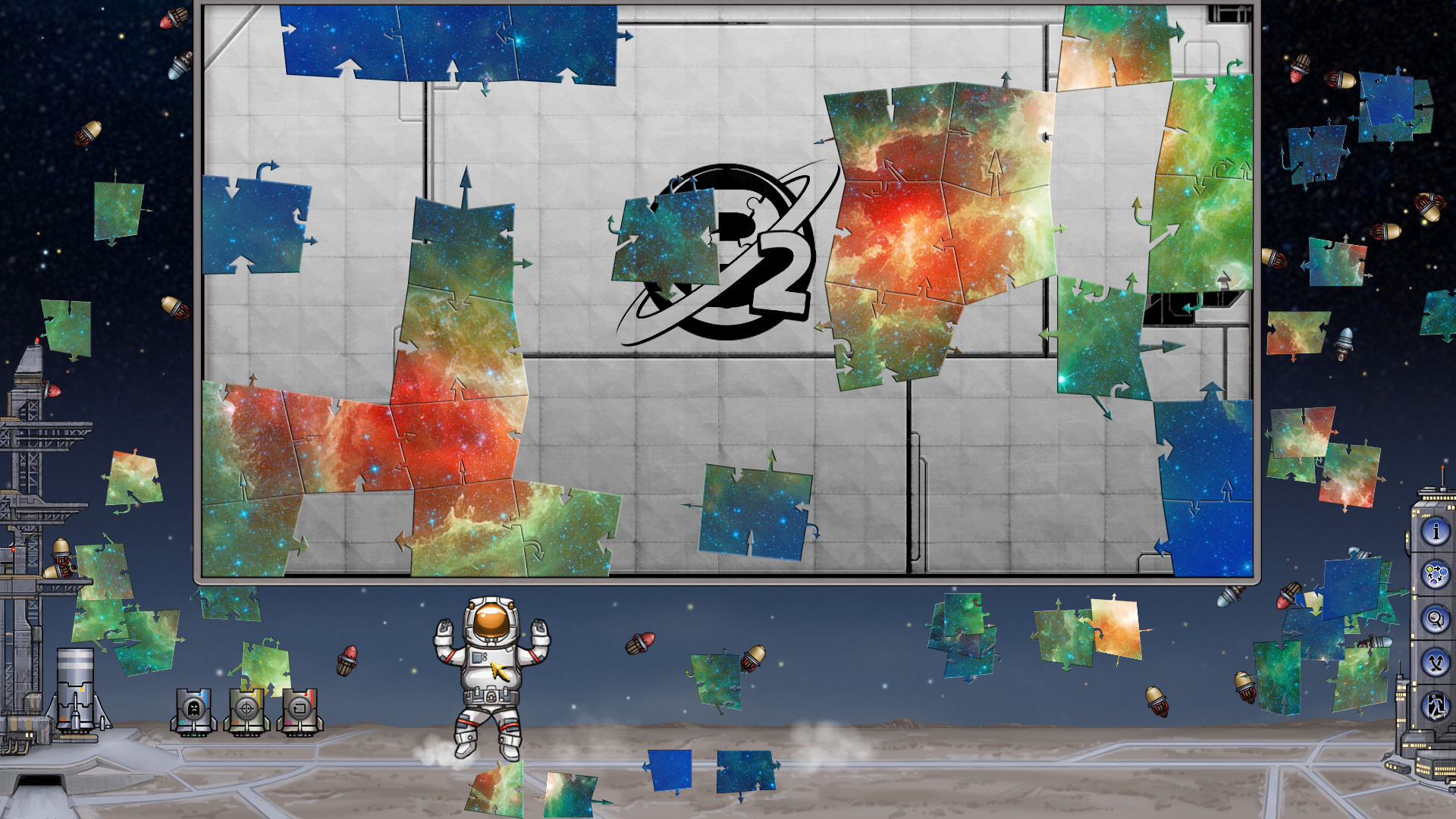 Pixel Puzzles 2: Space screenshot