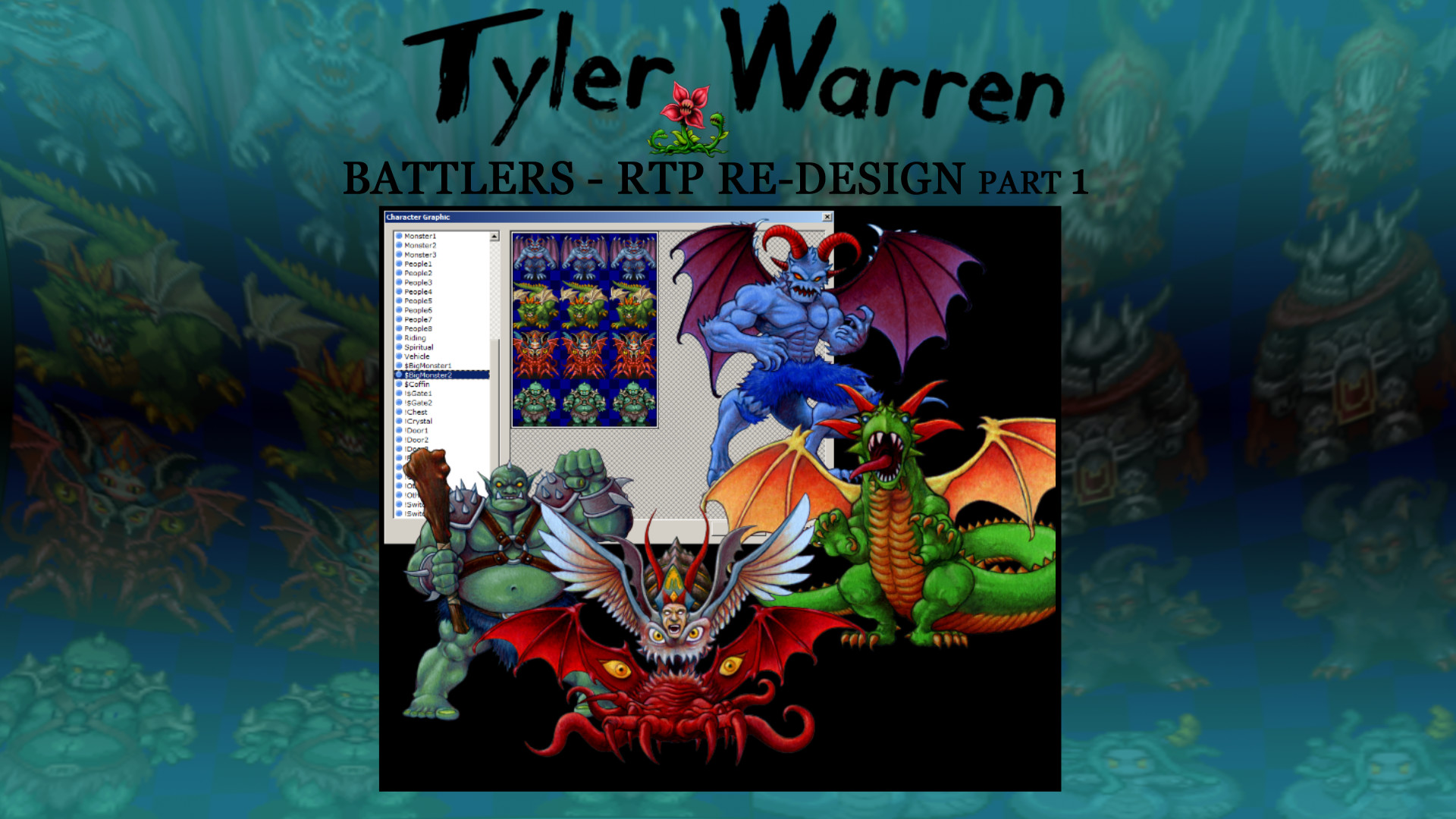 RPG Maker VX Ace - Tyler Warren RTP Redesign 1 screenshot