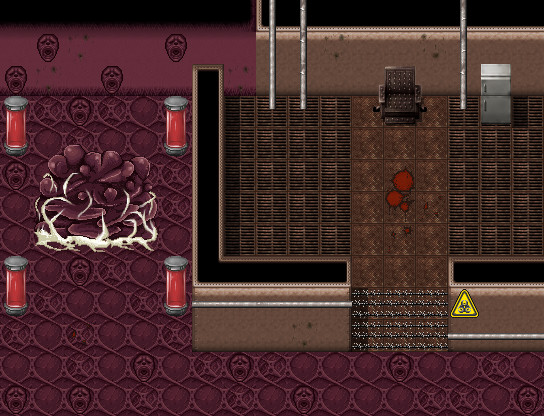 RPG Maker VX Ace - Frontier Works: Horror Interior Tiles screenshot
