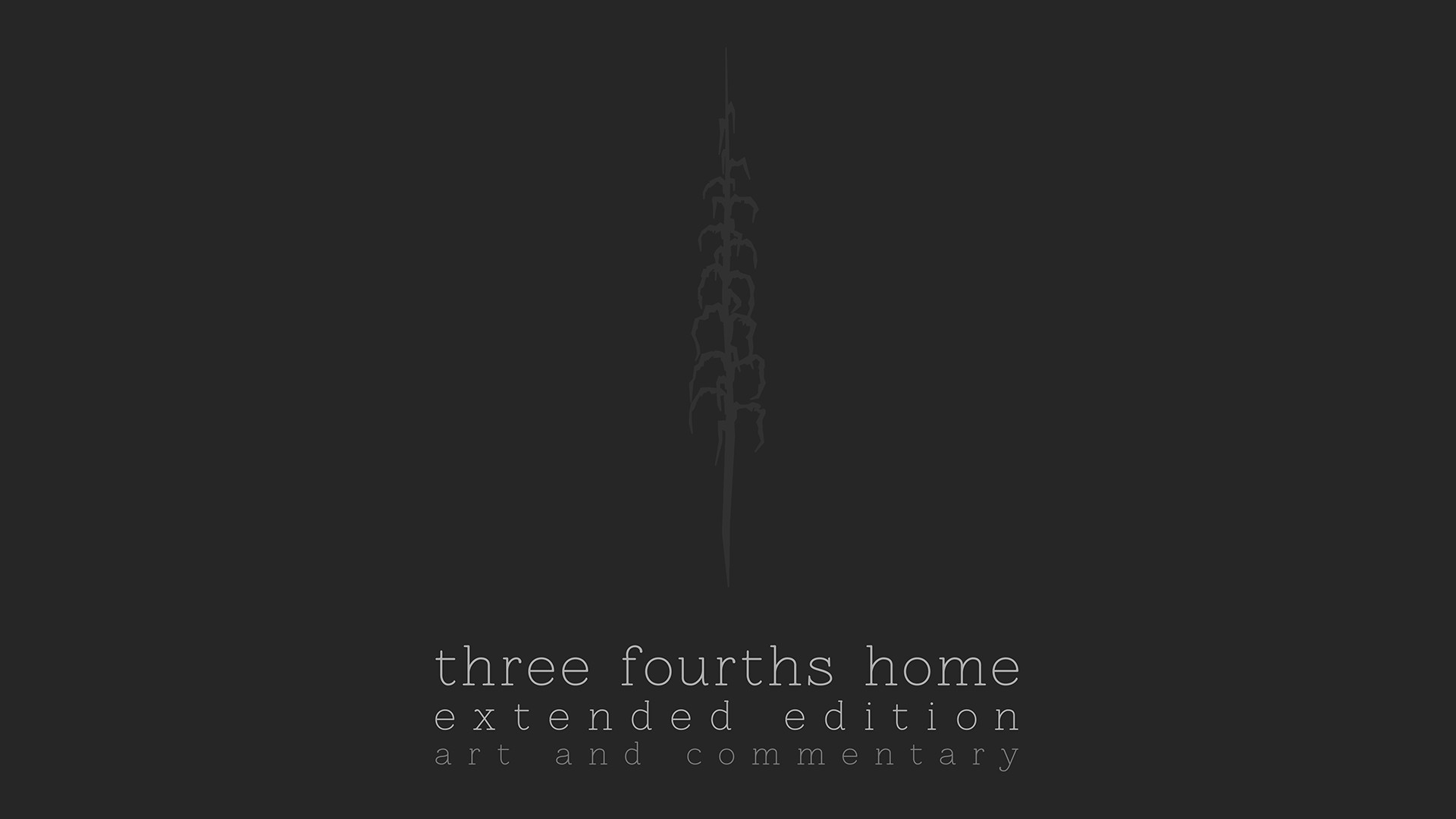 Three Fourths Home: Extended Edition - Art Book & Soundtrack screenshot