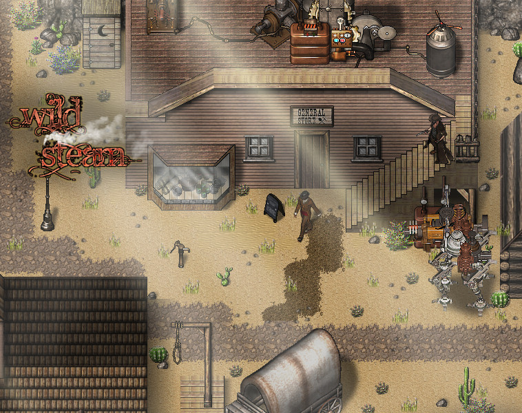 RPG Maker VX Ace - Wild Steam Resource Pack screenshot