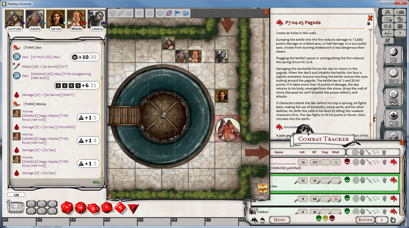Fantasy Grounds - Dungeons & Dragons: The Rise of Tiamat screenshot