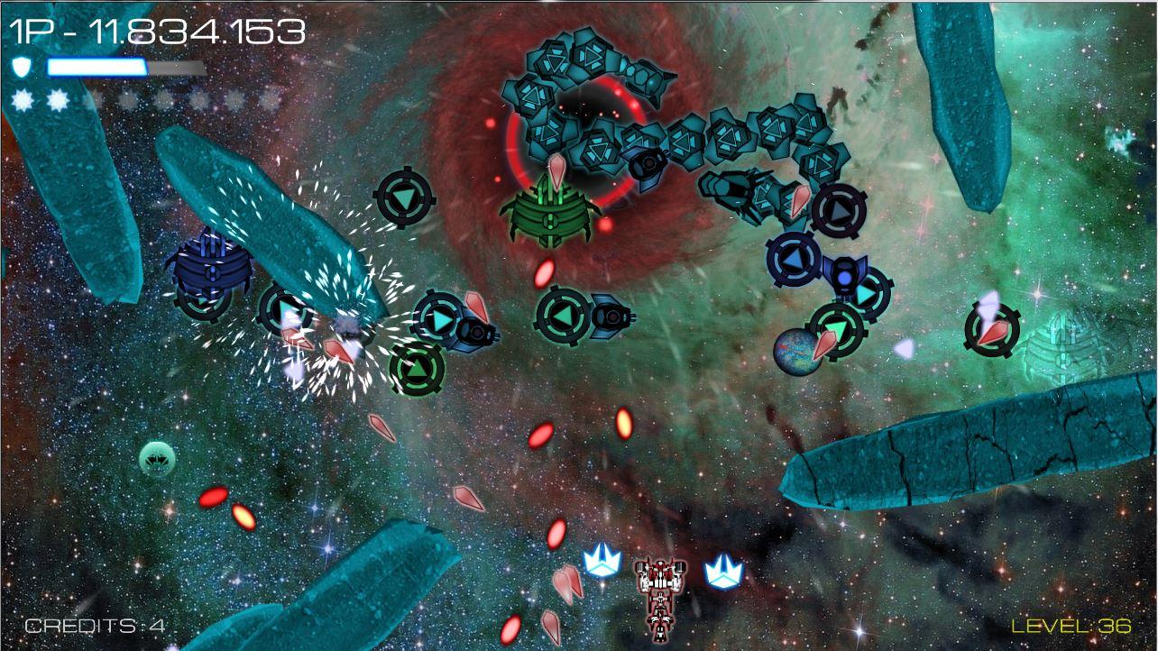 Vortex Attack: ボルテックスアタック screenshot
