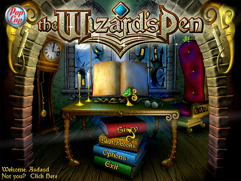 The Wizard's Pen screenshot
