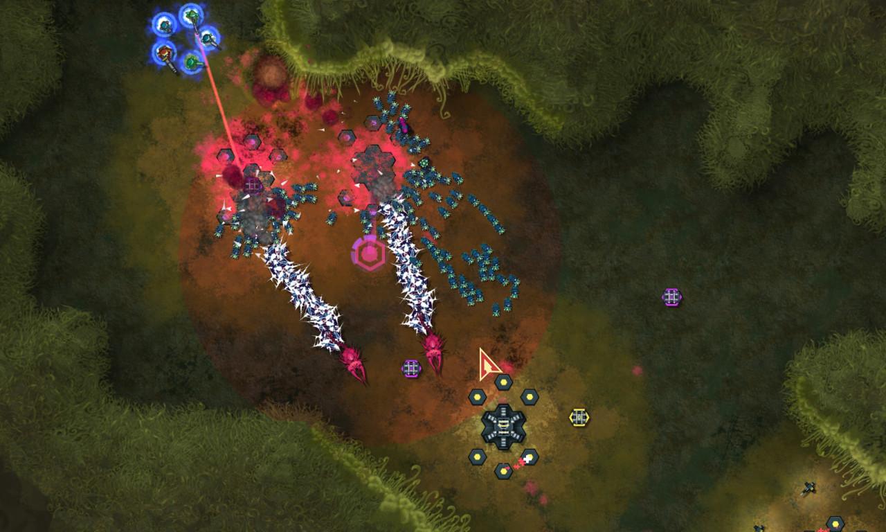 Infested Planet - Trickster's Arsenal screenshot