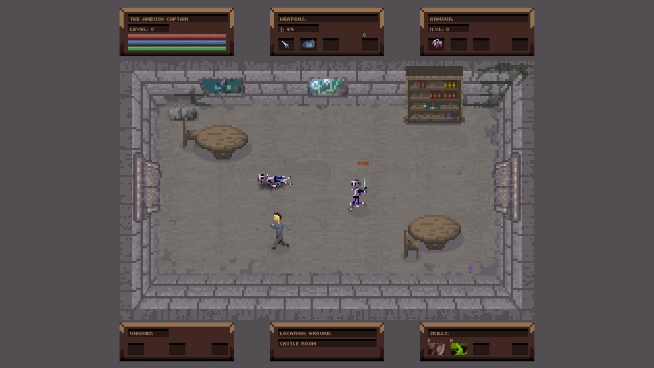 No Turning Back: The Pixel Art Action-Adventure Roguelike screenshot
