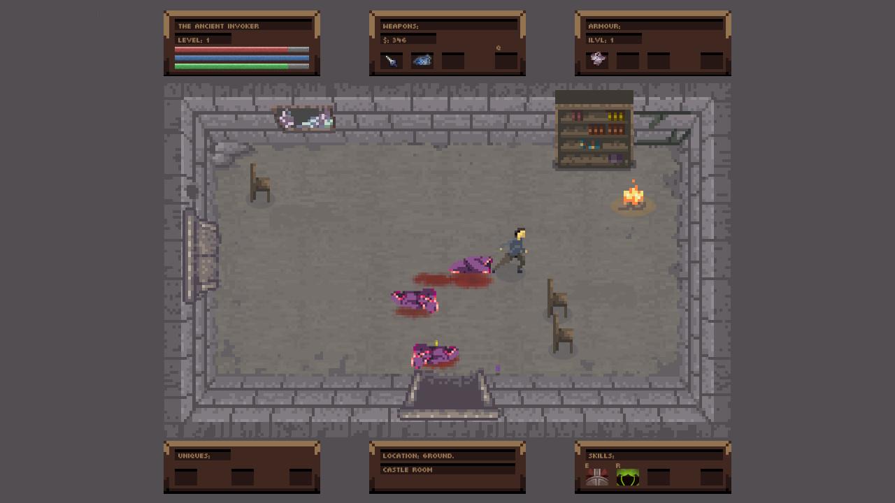 No Turning Back: The Pixel Art Action-Adventure Roguelike screenshot