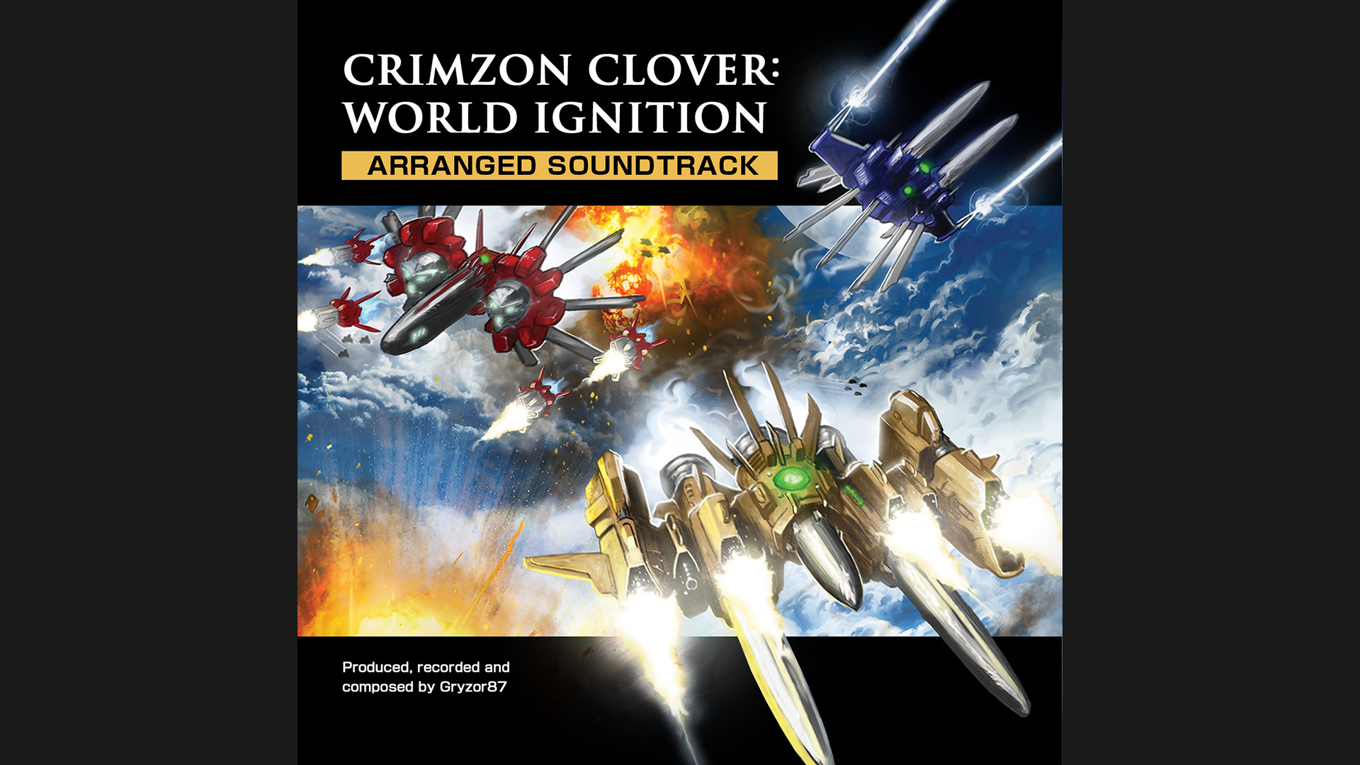 Crimzon Clover WORLD IGNITION - Arranged Sound Track screenshot