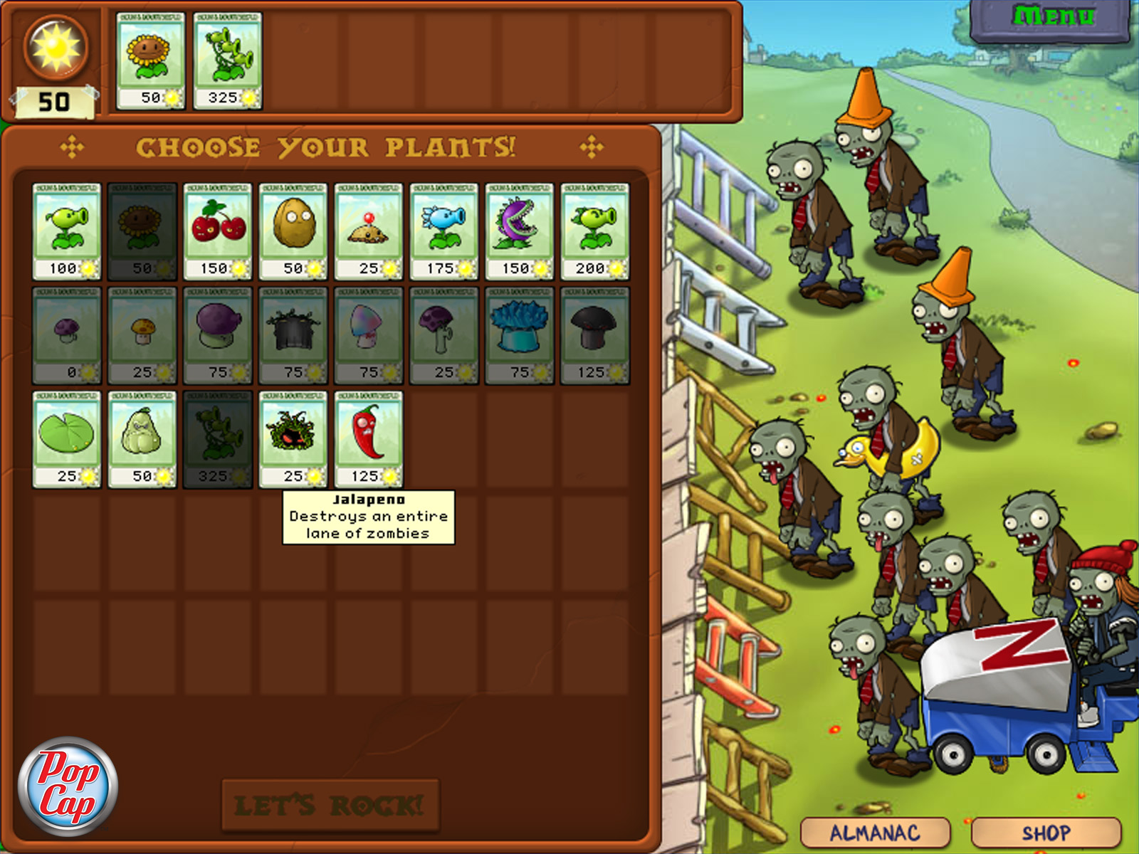 Plants vs. Zombies GOTY Edition screenshot