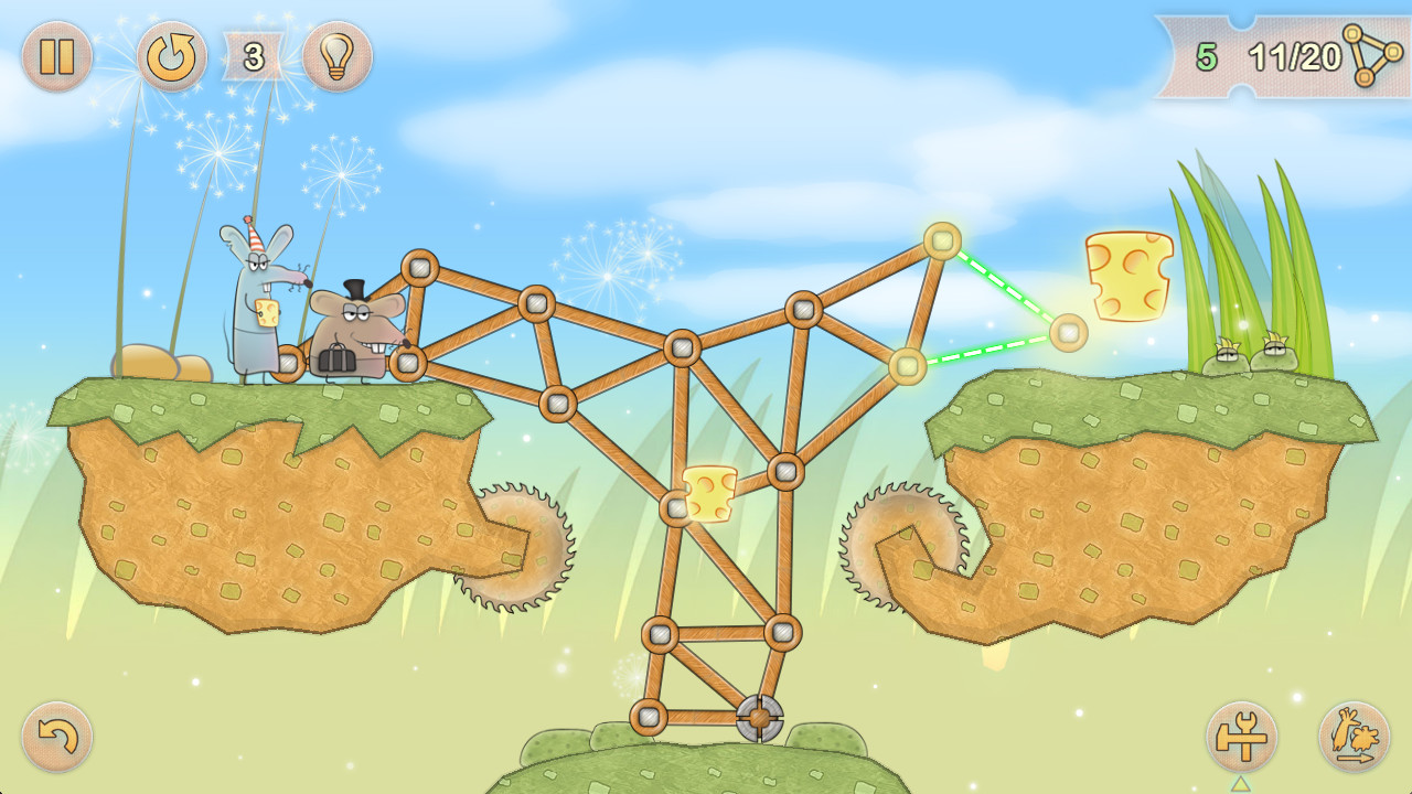 Tiny Bridge: Ratventure screenshot