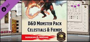 Fantasy Grounds - D&D Monster Pack - Celestials & Fiends