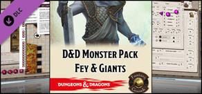 Fantasy Grounds - D&D Monster Pack - Fey & Giants