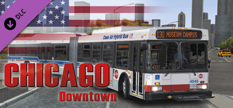 [OMSI 2] Chicago Downtown add-on is nu beschikbaar op Steam