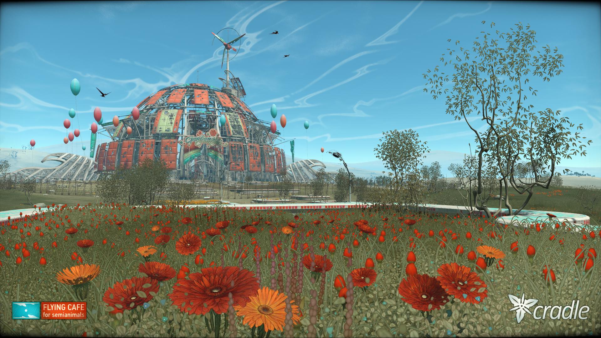 Cradle screenshot