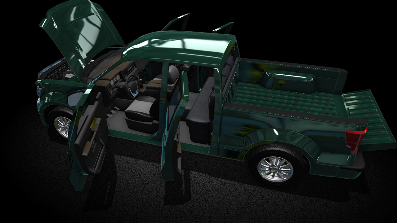 Car Mechanic Simulator 2015 - PickUp & SUV screenshot