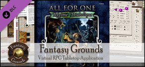 Fantasy Grounds - Savage Worlds Setting: All for One - Regime Diabolique
