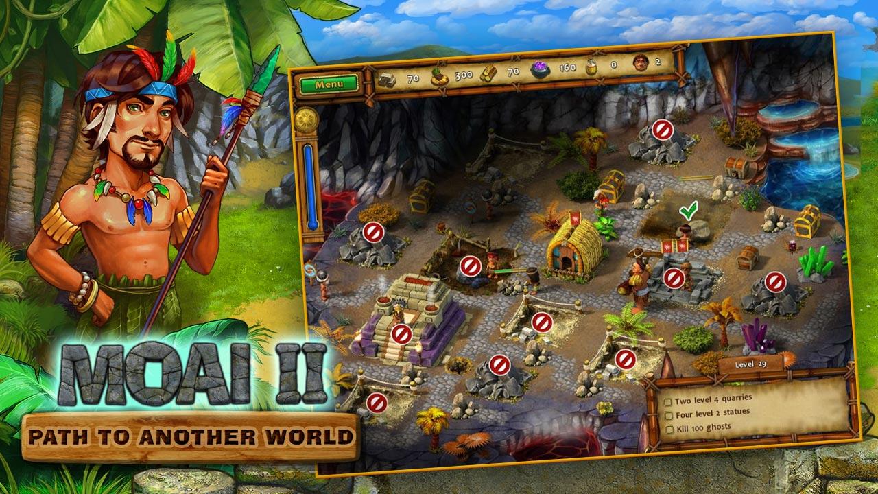 MOAI 2: Path to Another World screenshot
