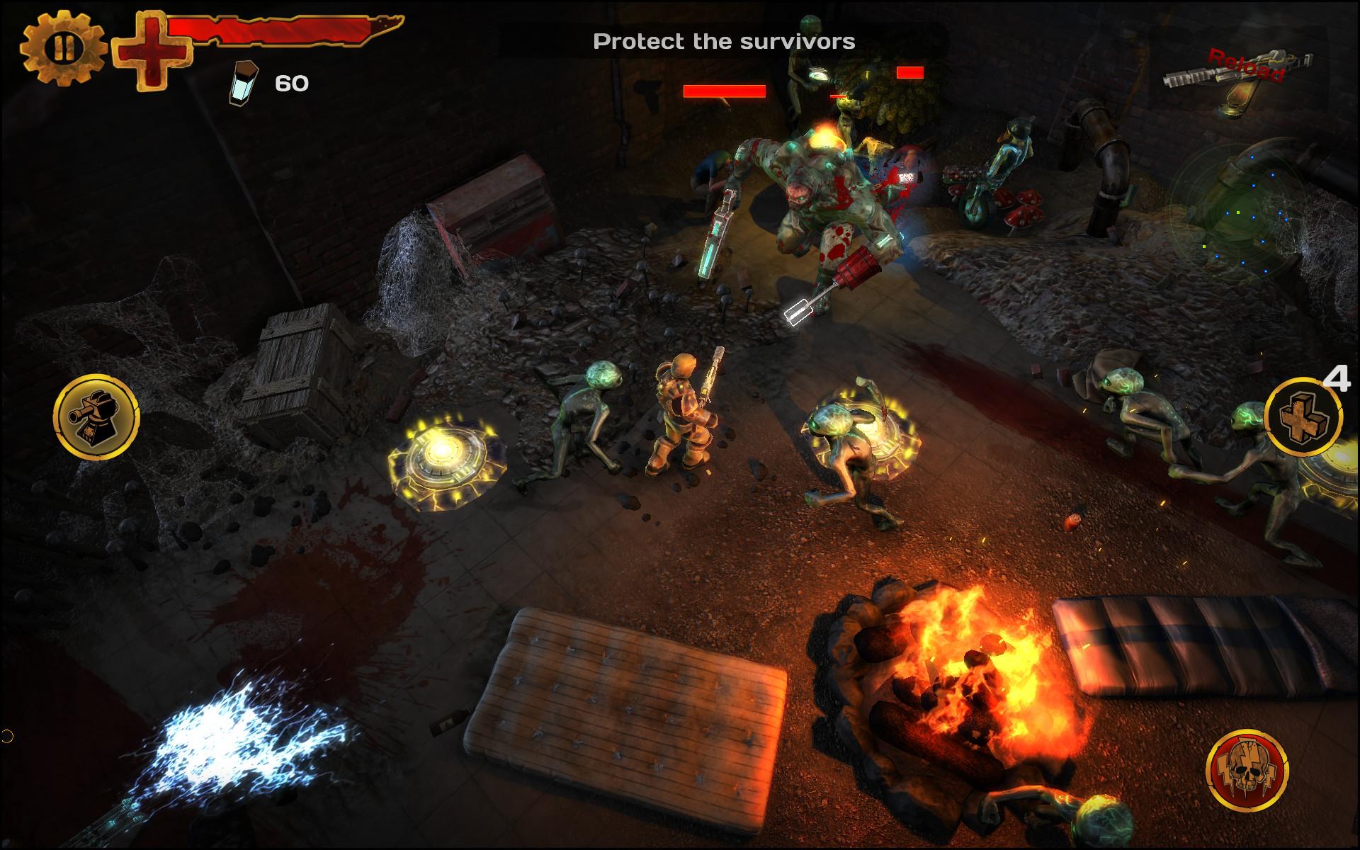 Guns'N'Zombies: N'Aliens screenshot