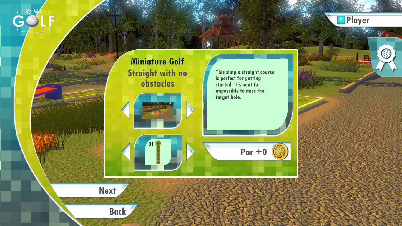 3D MiniGolf screenshot