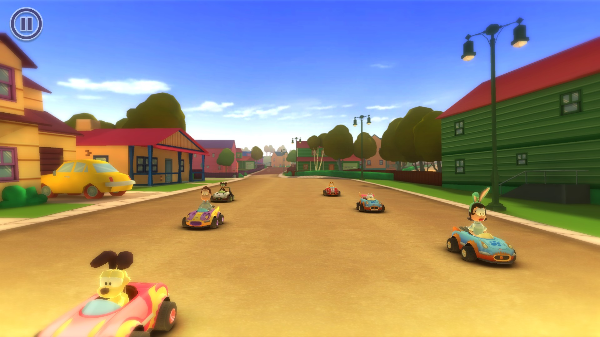 Garfield Kart (ENG|MULTI5) [RePack] от R.G. Механики