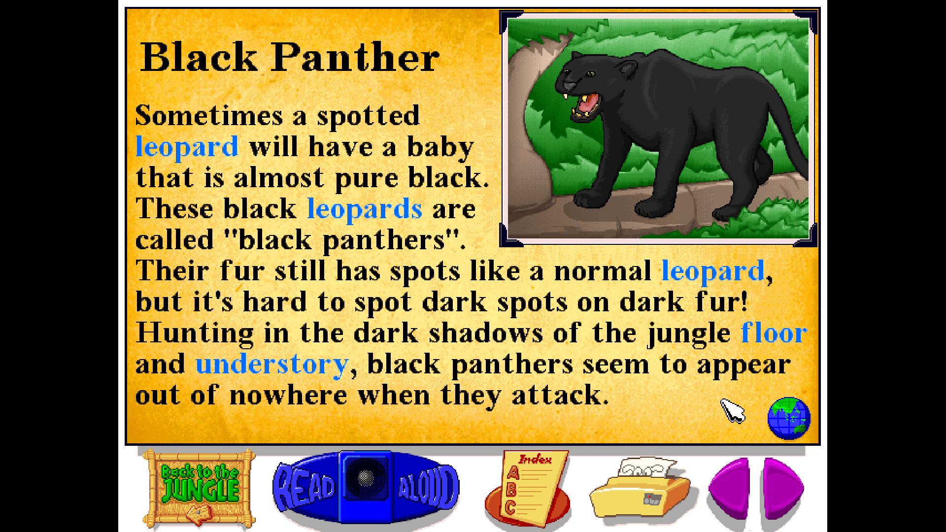 Let's Explore the Jungle (Junior Field Trips) screenshot