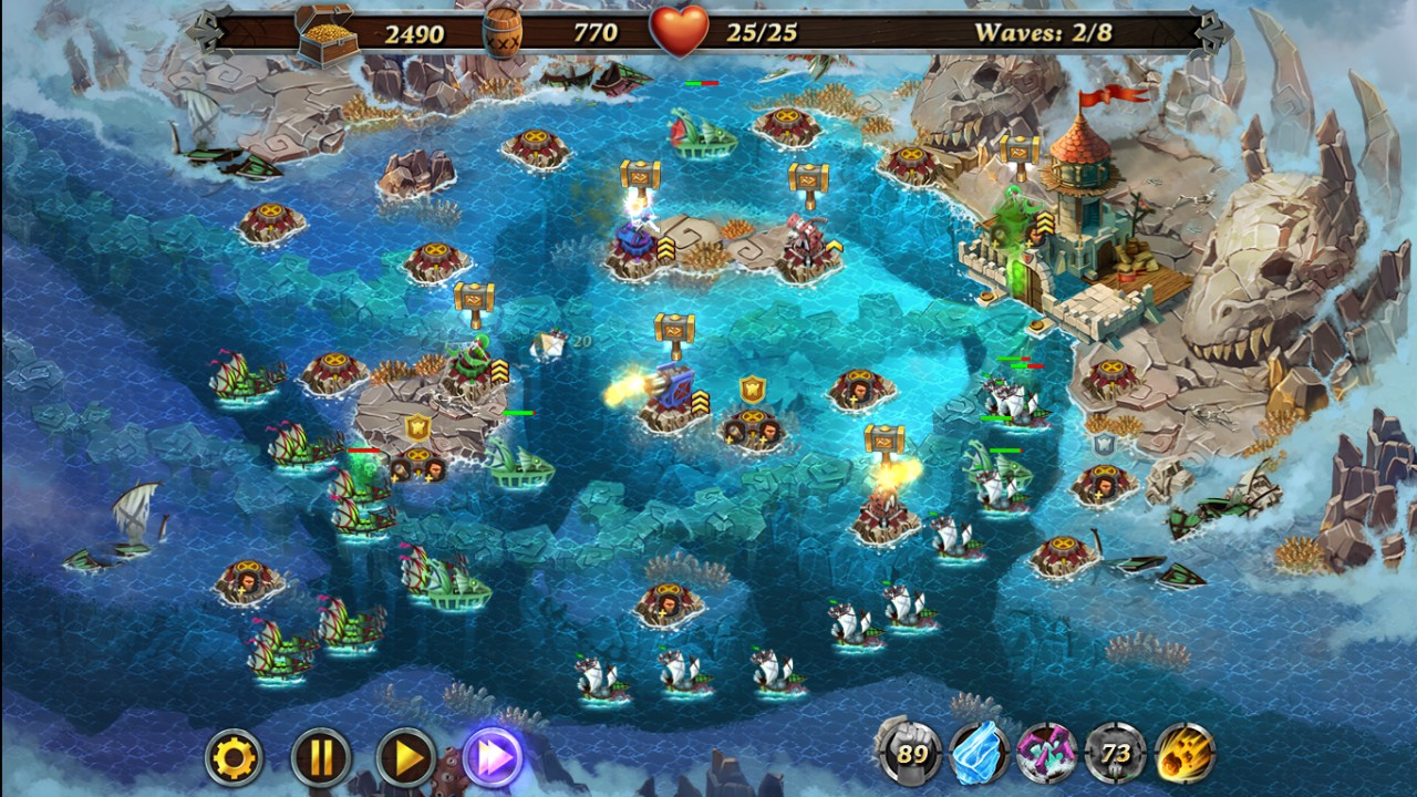 Fort Defense - Bermuda Triangle screenshot