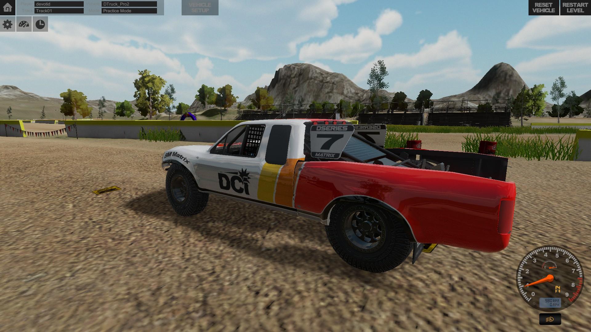 D Series OFF ROAD Driving Simulation screenshot