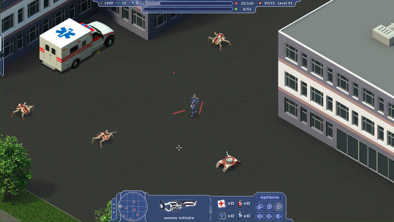 Escape Machines screenshot
