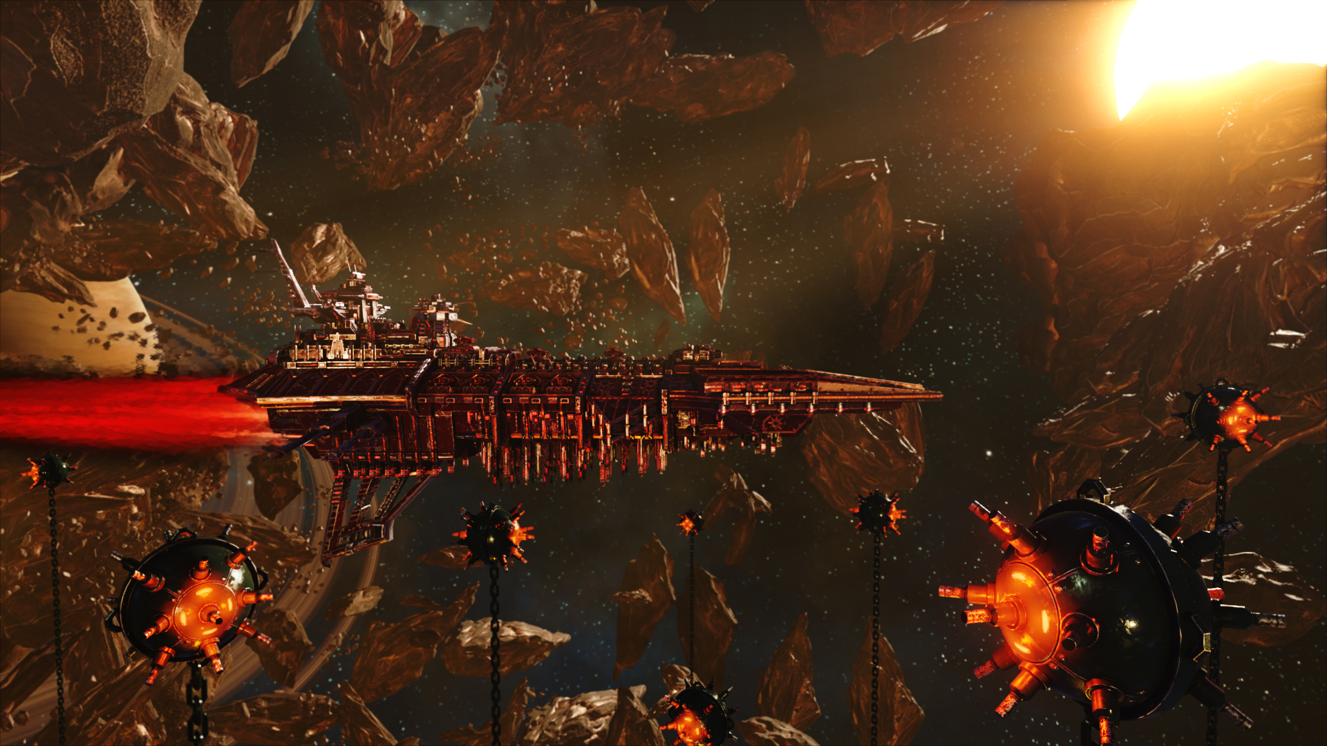 Battlefleet Gothic Armada Gameplay 4