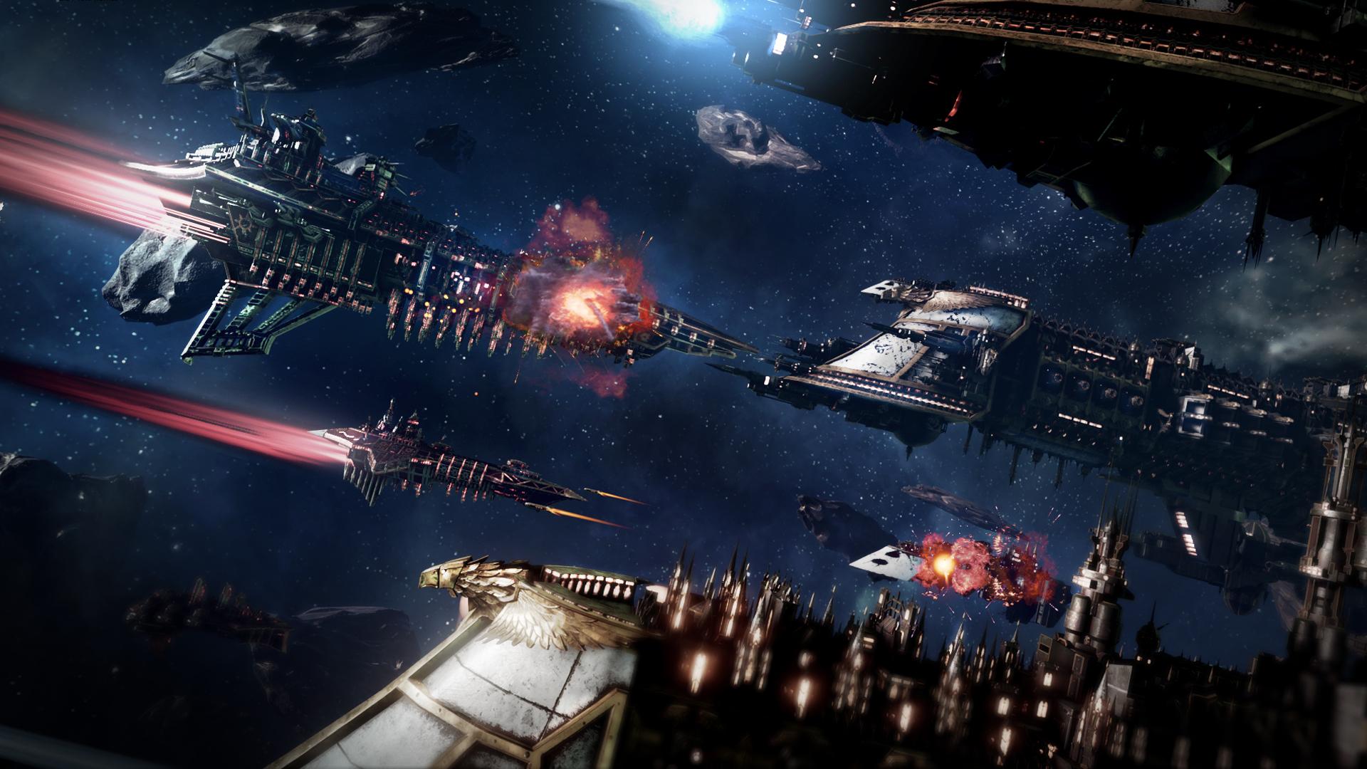 Battlefleet Gothic: Armada (RUS|ENG|MULTI5) [RePack] от R.G. Механики