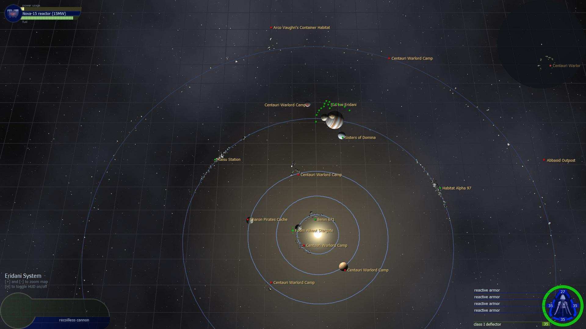 Transcendence screenshot