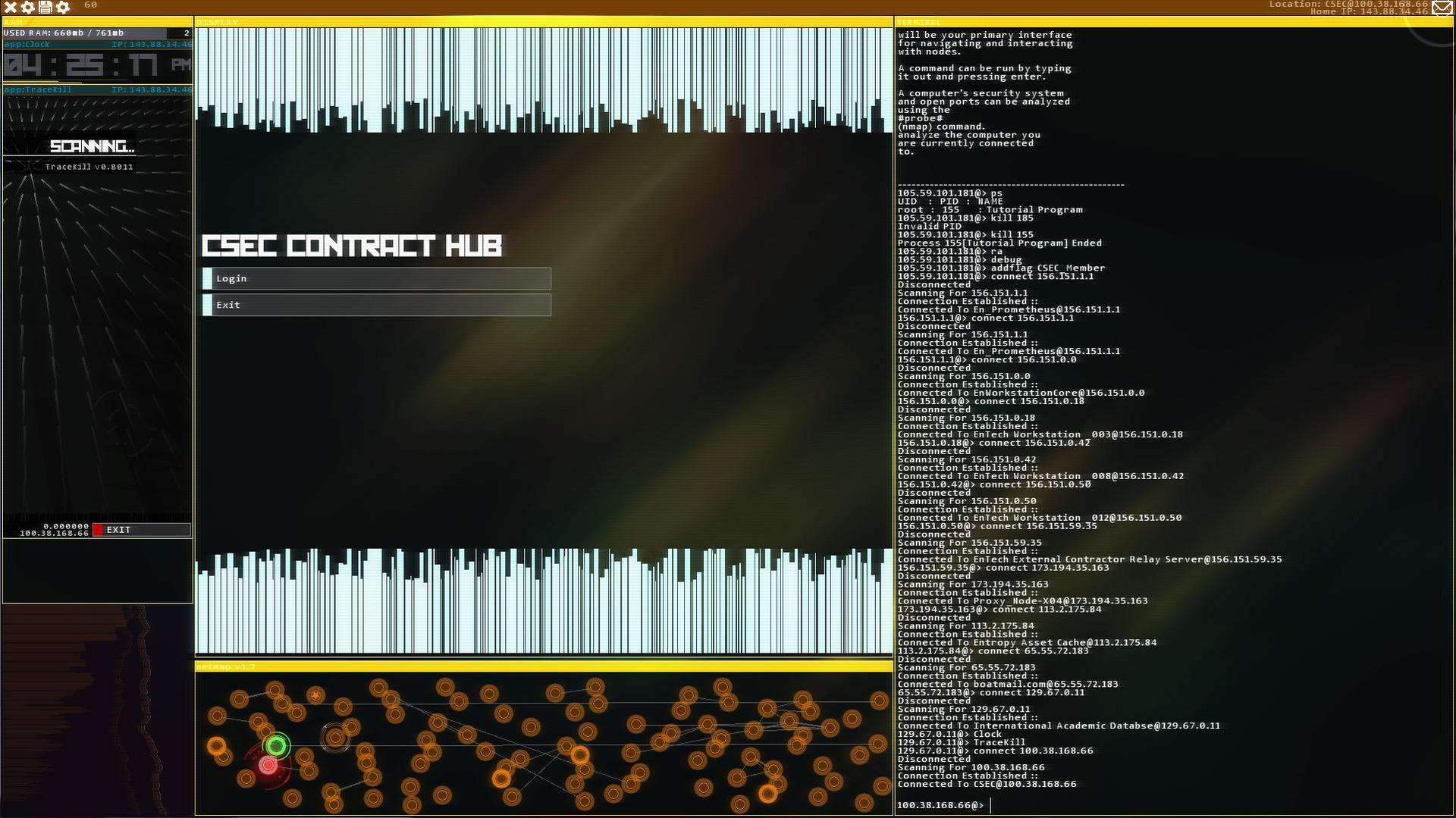 Hacknet. Ultimate Edition [GoG] [2015|Rus|Eng|Multi8]