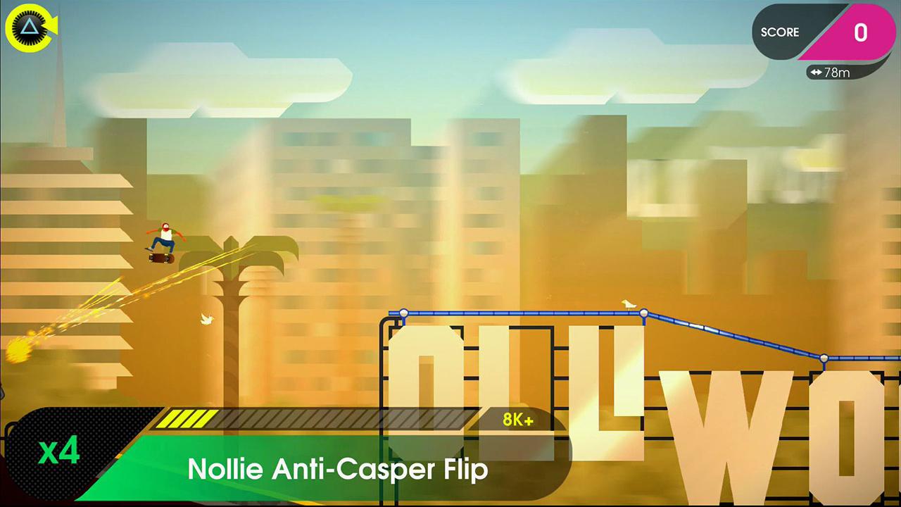 OlliOlli2: Welcome to Olliwood screenshot