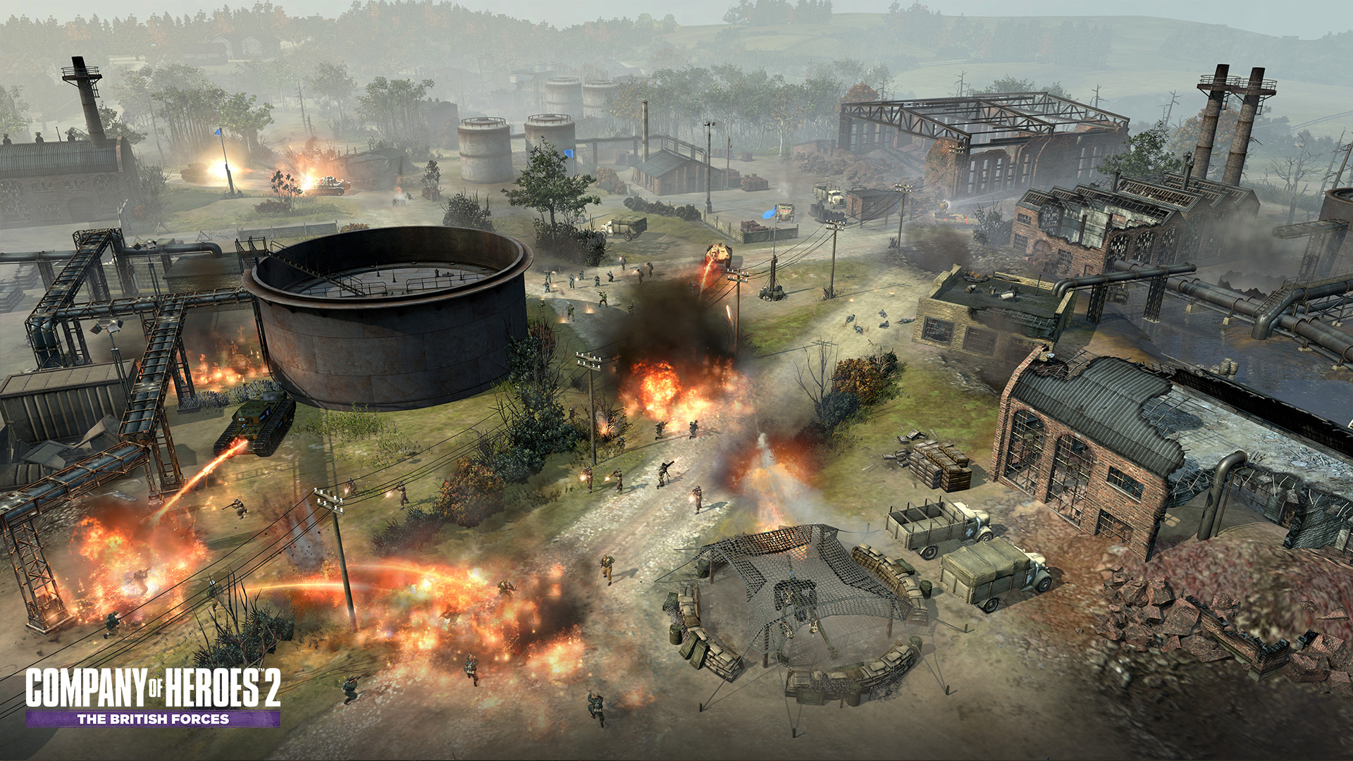 company of heroes 2 the british forces on steam. Black Bedroom Furniture Sets. Home Design Ideas