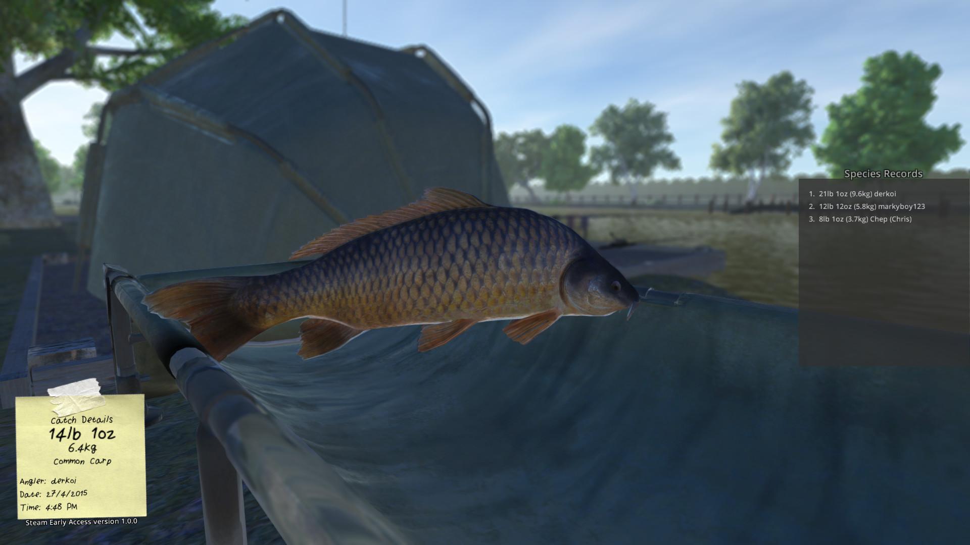 Download carp fishing simulator full pc game for Ps4 fishing games 2017