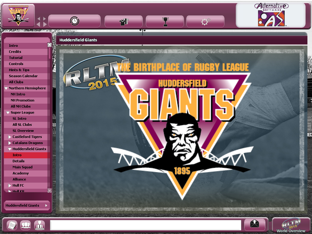 Rugby League Team Manager 2015 screenshot