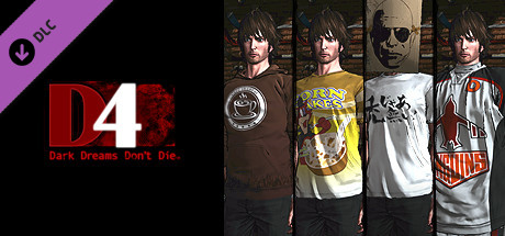 D4: SWERY's Choice Costume Set -4 Cups of Coffee-