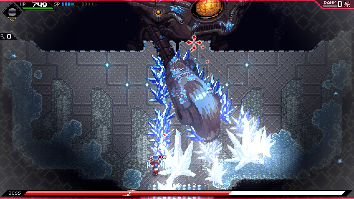 CrossCode screenshot