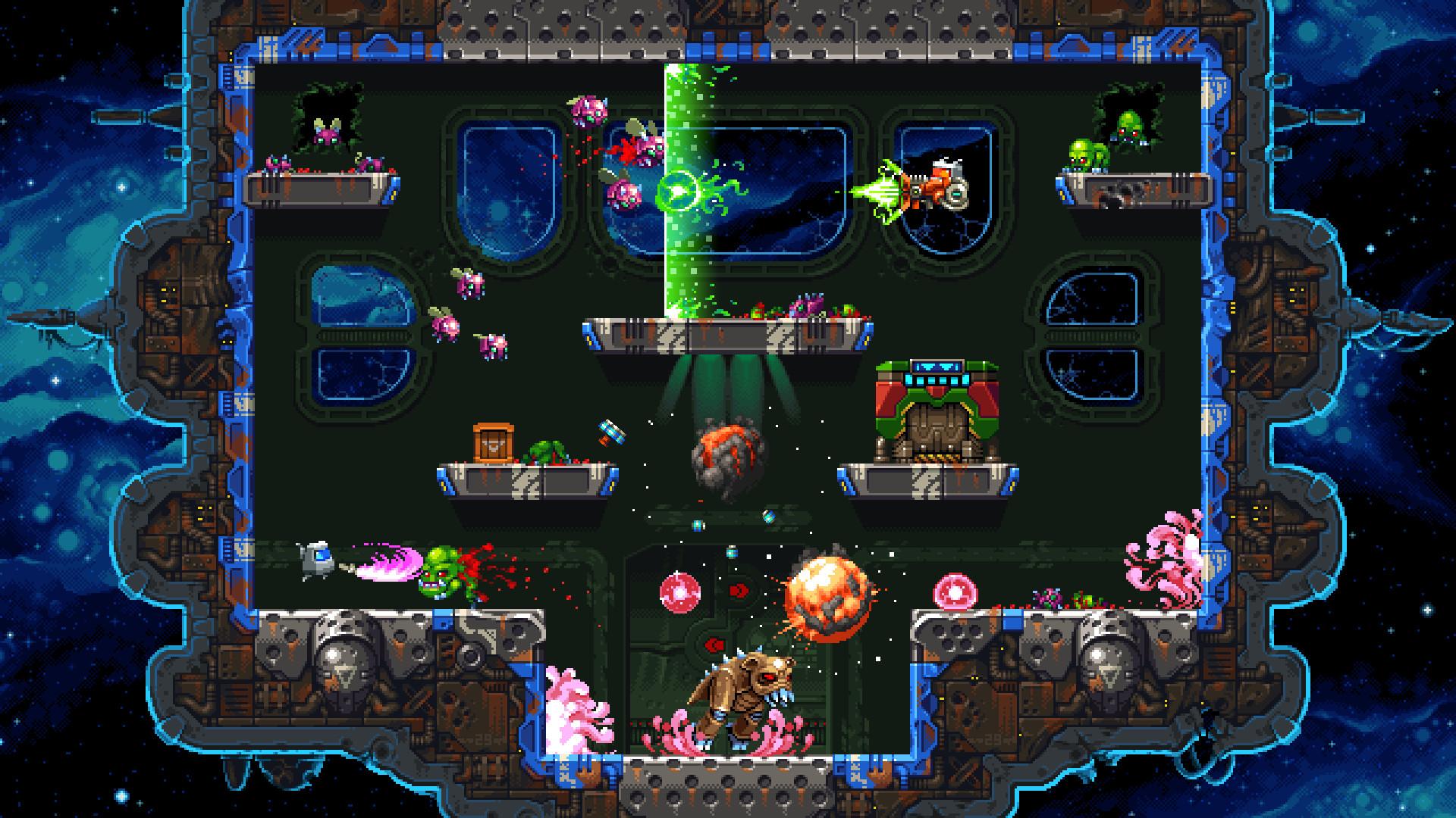 Super Mutant Alien Assault screenshot