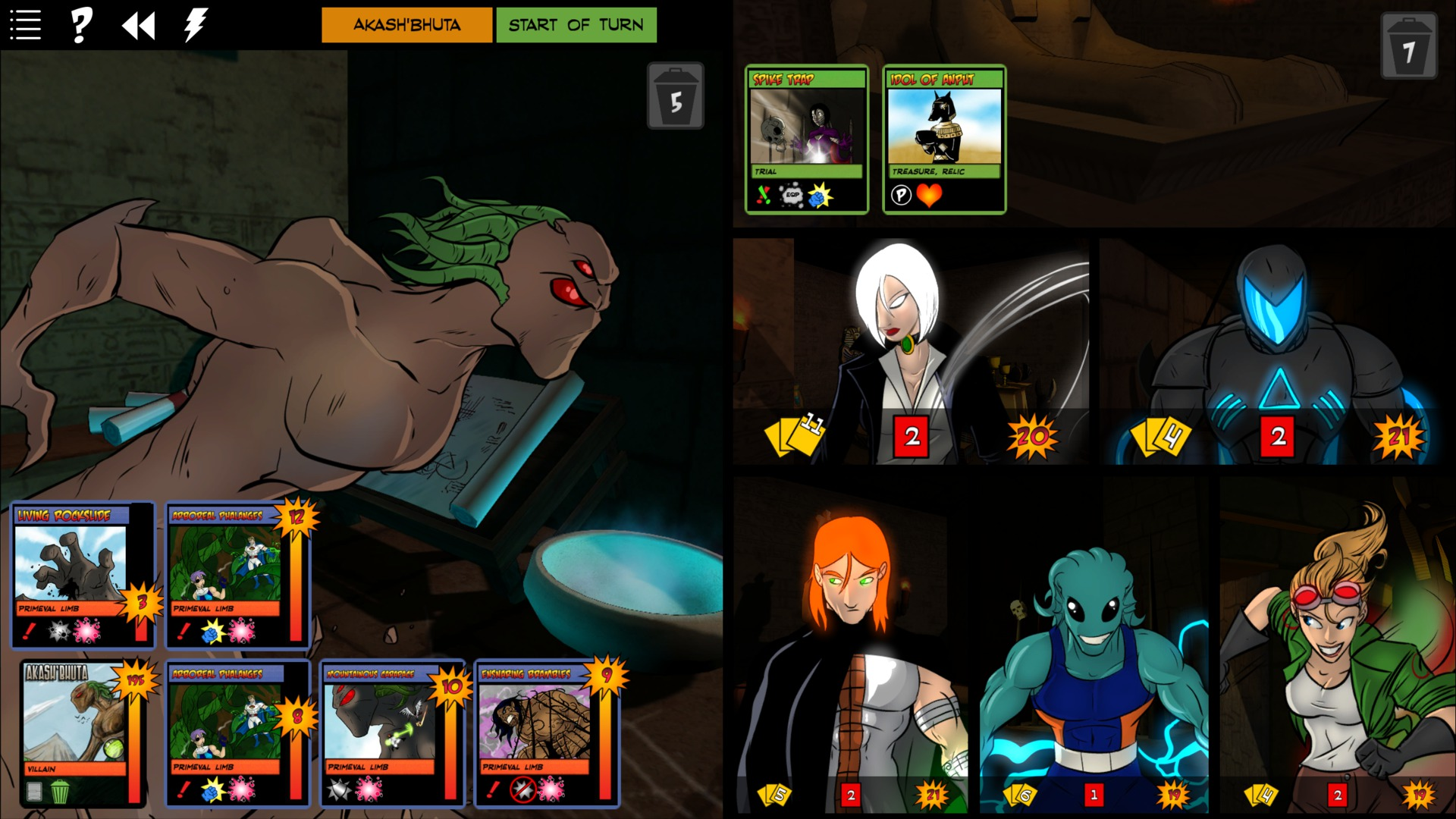 Sentinels of the Multiverse - Infernal Relics screenshot