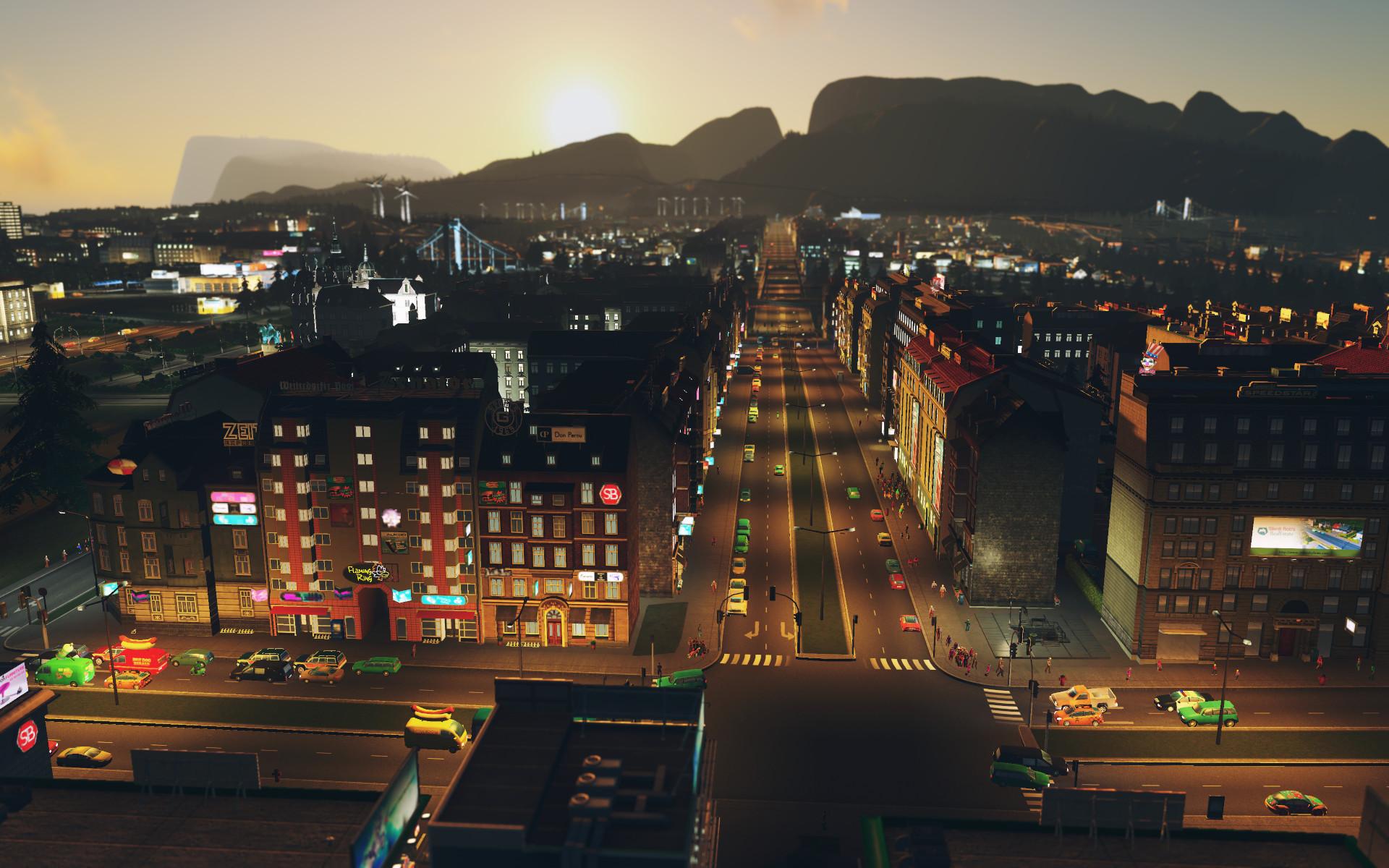 Cities: Skylines - After Dark screenshot